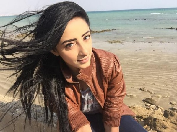 sanam chaudhry on beach pictures