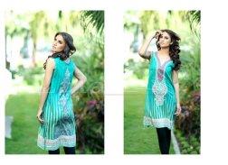 Lala Textiles Sana & Samia Collection 2015 Volume 2 For Women 009
