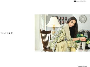 Orient Textiles Lawn Collection 2015 For Women 001