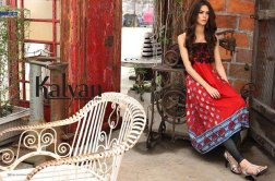 ZS Textile Embroidered Lawn Collection 2015 For Women 008
