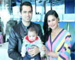 veena malik with family on birthday