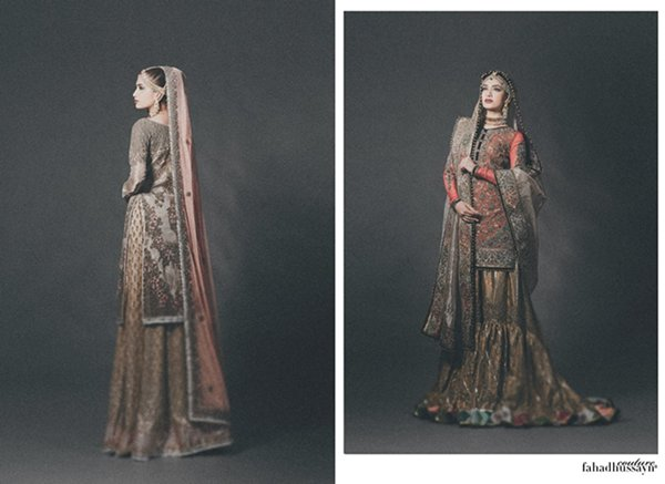 Fahad Hussayn Bridal Dresses 2015 For Women 003