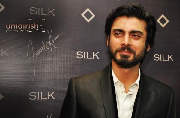 Fawad khan wearing silk by fawad khan - Pakistani Celebrities Who Are Brand Conscious
