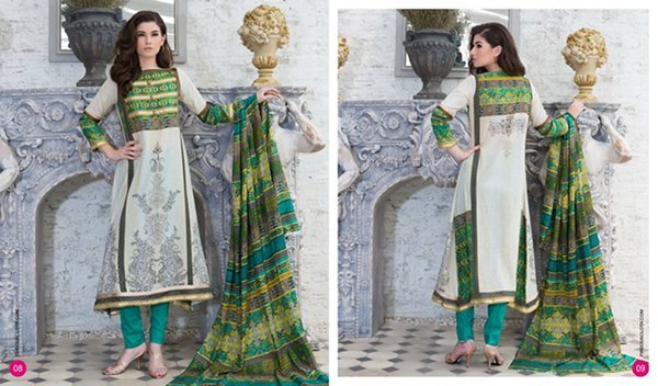Firdous Cloth Mills Lawn Collection 2015 Volume 2 009