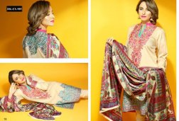 Hadiqa Kiani Fabric World Lawn Collection 2015 Volume 2 For Women 009