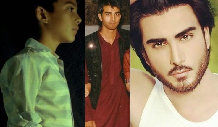 Imran abbas childhood and teenage