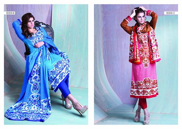 Sitara Textiles Sapna Lawn Collection 2015 For Women 0012