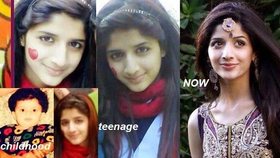 mawra hocane teenage and childhood pictures