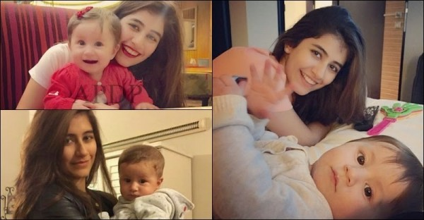 Adorable Pictures Of Syra Shehroze With Daughter Nooreh