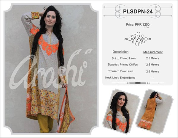 Aroshi Summer Collection 2015 For Women0010