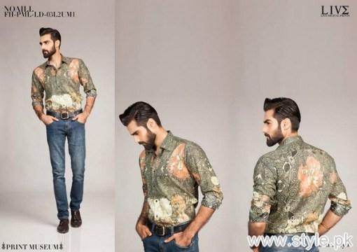 Fahad Hussayn Menswear Dresses 2015 For Midsummer 7