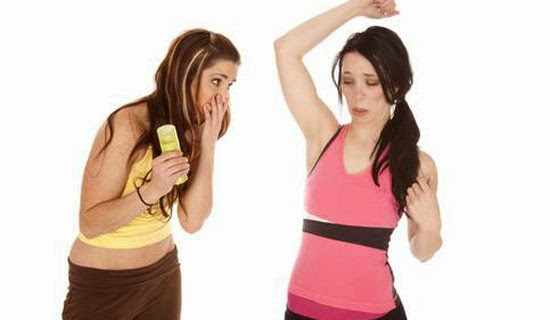 Get Rid of Body Smell
