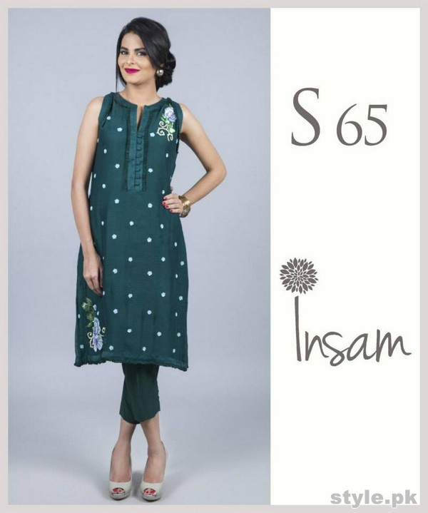 Insam Summer Dresses 2015 For Girls 2