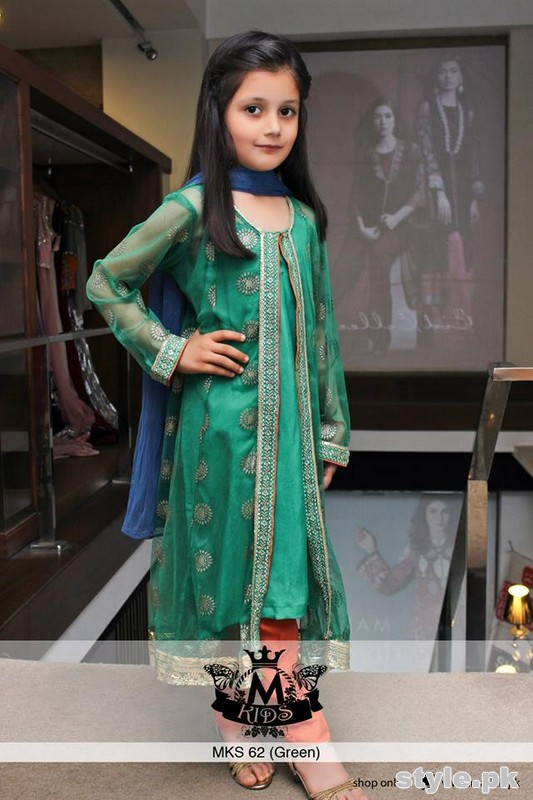 Maria B Kids Wear Dresses 2015 For Summer 1