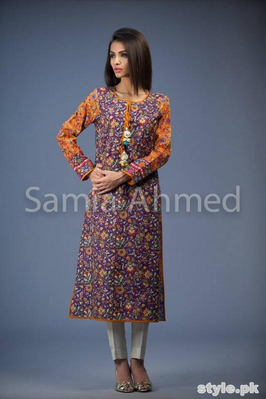 Samia Ahmed Eid-Ul-Fitr Dresses 2015 For Women 10
