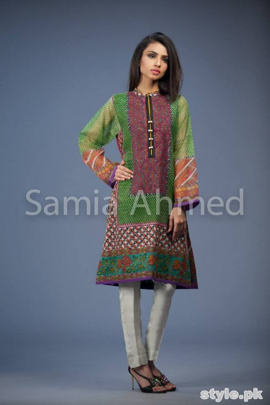 Samia Ahmed Eid-Ul-Fitr Dresses 2015 For Women 9