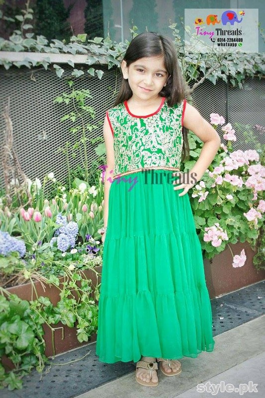 Tiny Threads Eid Collection 2015 For Kids 13