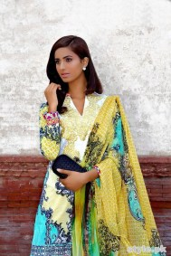 Asifa and Nabeel Lawn Dresses 2015 For Women 5