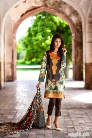 Asifa and Nabeel Lawn Dresses 2015 For Women 6