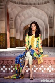 Asifa and Nabeel Lawn Dresses 2015 For Women 8