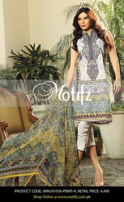 Motifz Eid Collection 2015 For Women002