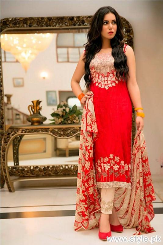 Phulkari by Taana Baana Eid Dresses 2015 For Women 6