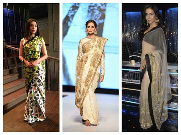 Which Pakistani Celebrities Look Beautiful In Saree