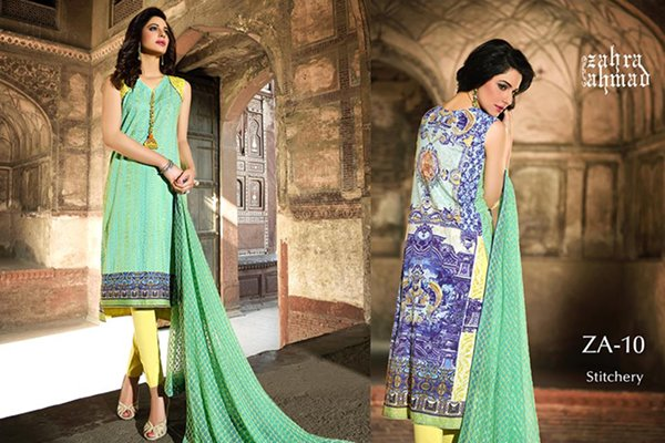 Zahra Ahmad Eid Collection 2015 For Women004