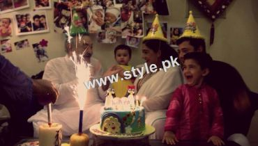See Birthday Celebration of Madiha Rizvi and Hassan Noman's daughter Annaya