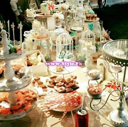 Birthday celebrations of Syra and Shehroz's baby 6
