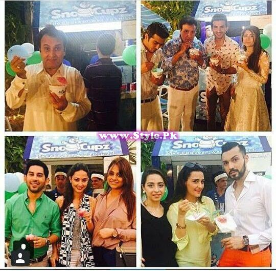 Birthday celebrations of Syra and Shehroz's baby  9