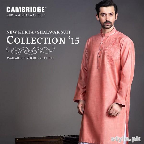 Cambridge Eid Kurta Shalwar For Men 2015 1