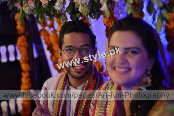 Complete Wedding pictures of Ali Gul Pir and his bride (7)