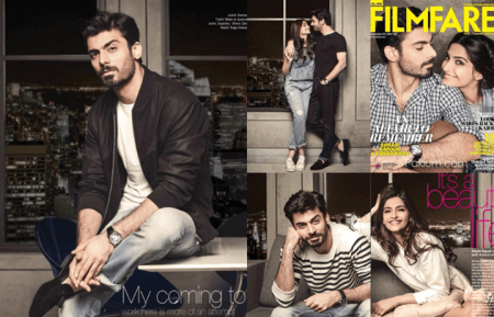 SEe Fawad Khan on cover of Indian magazine