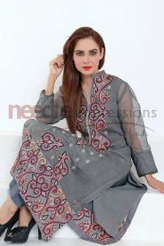 Needle Impressions Ready To Wear Eid Collection 2015 For Women0017