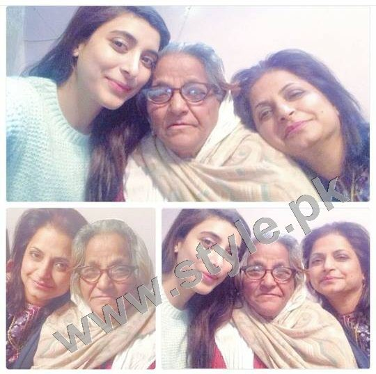 Pictures of Pakistani Celebrities with their mothers 5