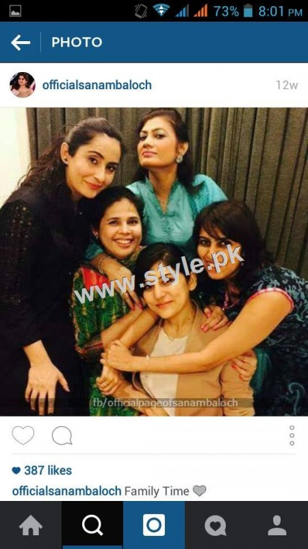 Pictures of Pakistani Celebrities with their sisters 2