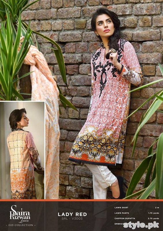 Saira Rizwan Eid Dresses 2015 For Girls 2