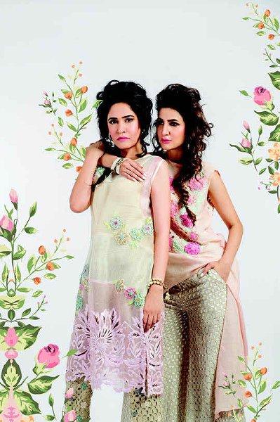 Sanam Chaudhri Eid Collection 2015 For Women002