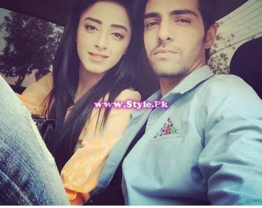 See Sanam Chaudhry and Furqan Qureshi are mad in each other's love