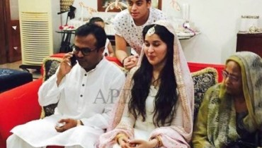 See Shaista Lodhi's nikkah pictures