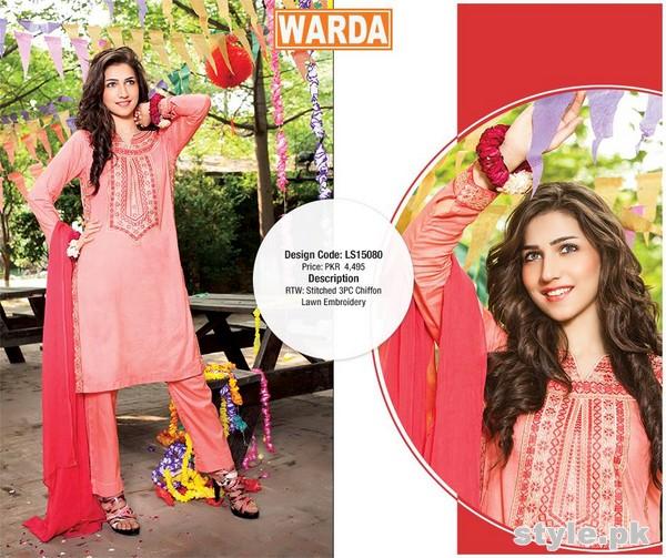 Warda Eid Dresses 2015 For Women 7