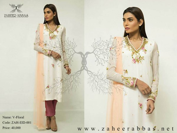 Zaheer Abbas Eid Collection 2015 For Women001