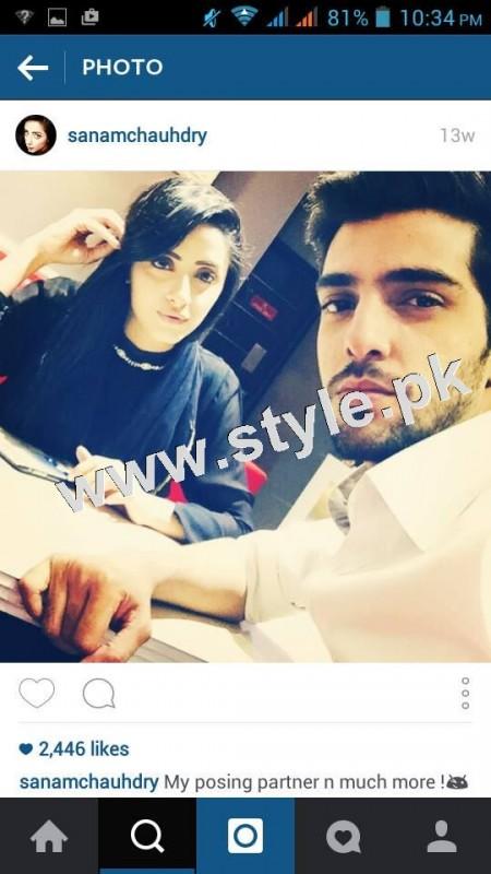 After dating Humayun Ashraf Sanam Chaudhry is dating Furqan Qureshi 3