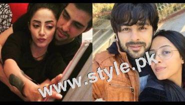 See After dating Humayun Ashraf Sanam Chaudhry is dating Furqan Qureshi