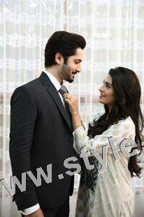 Ayeza Khan and Danish Taimoor's 1st Wedding Anniversary (15)