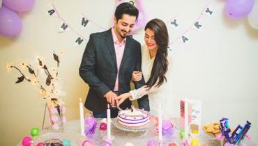 See Ayeza Khan and Danish Taimoor's first Wedding Anniversary Pictures
