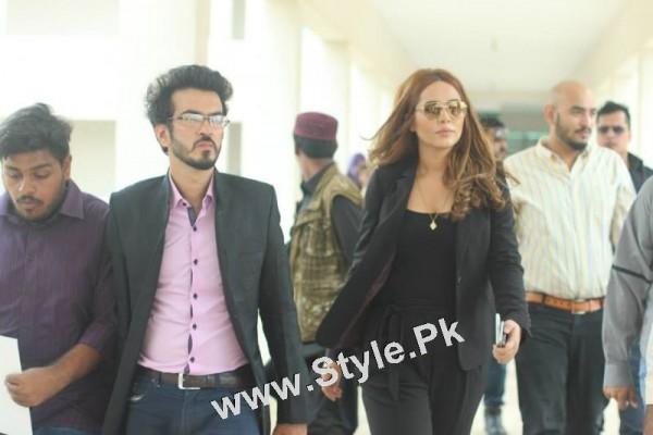 Ayyan Ali visited University of Karachi as guest of Honour (19)