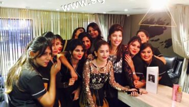 See Celebrities at the launch of Meher's Salon
