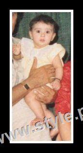 Childhood pictures of Ayeza Khan 3